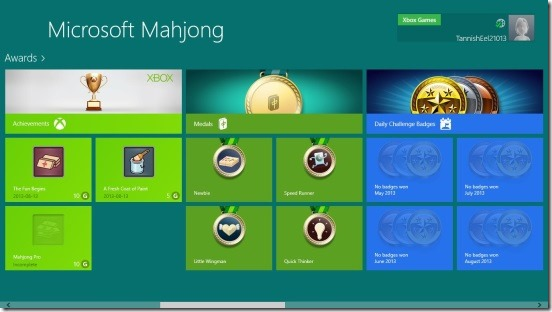 Microsoft Mahjong- awards