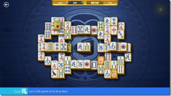 Microsoft Mahjong- playing daily challenge
