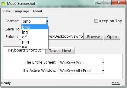 Moo0 Screenshot- main interface