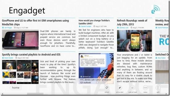 News Bento- engadget news source