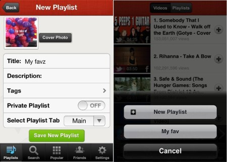 PlayBox -  Manage Playlists