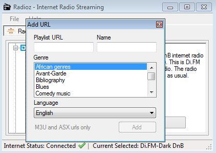 Radioz adding radio station