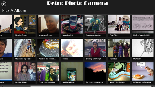 Retro Camera Facebook