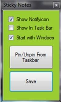 pin/unpin taskbar