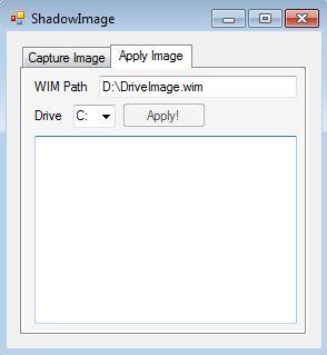 Shadow Image restoring backup
