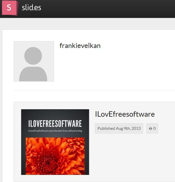 Slides managing presentations