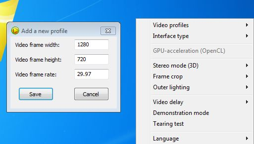 SmoothVideo Project setting up frame rate