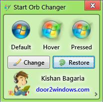 Start orb changer