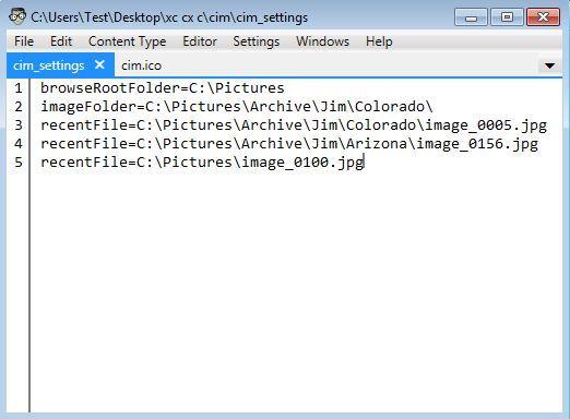 Universal File Editor - Interface