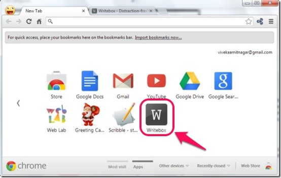 Writebox Icon