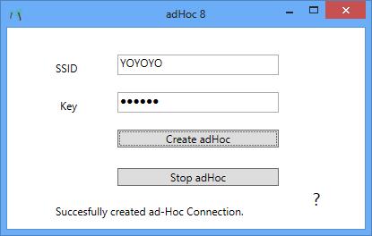 adhoc created