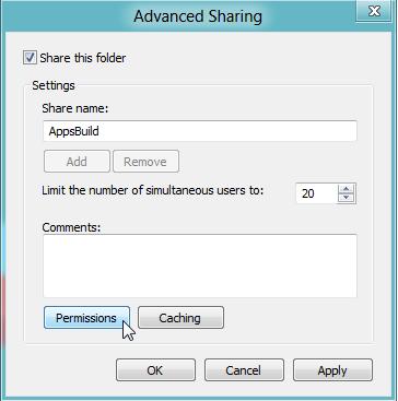 advance sharing