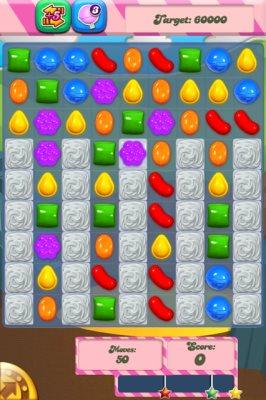 candy crush saga board