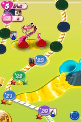 candy crush saga home
