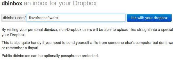 dbinbox default window