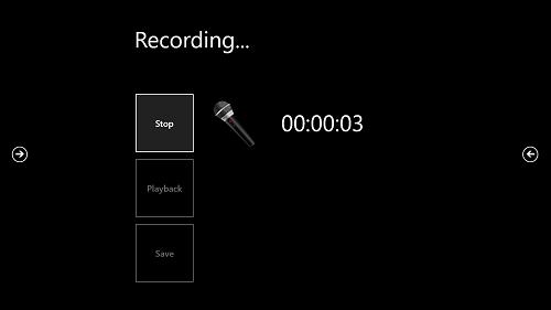 Microphone Pro - Recording Screen