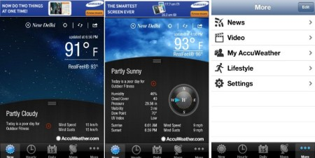 AccuWeather - Weather App for iPhone