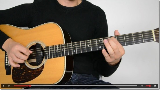 Guitar Lessons Beginners - Video