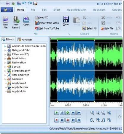 MP3 Editor Free