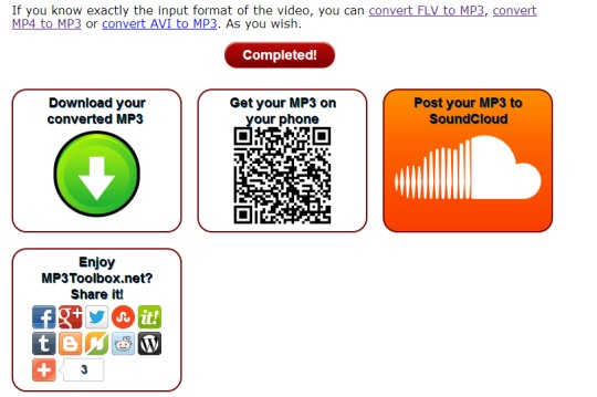 MP3Toolbox.net- online mp3 to video converter