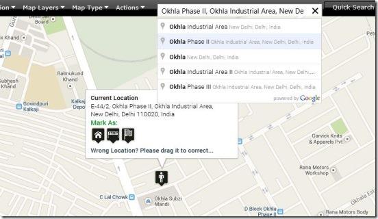 Map It! Lite.jpg - quick search