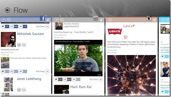 Meople.Net - Flow Screen