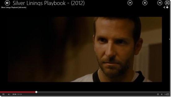 Movies Online - watching movie in full screen