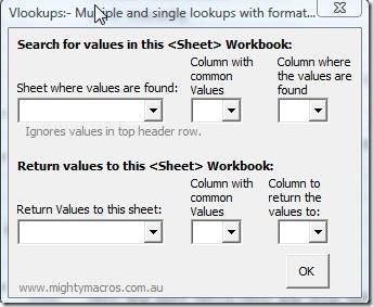 Multi-Lookup Add-in