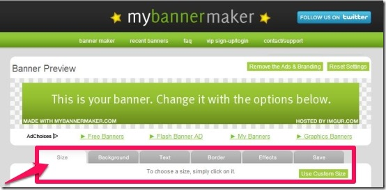 create flash banner online free without ads