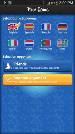 Newgame language select