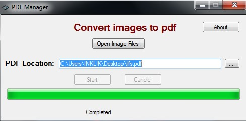 PDF Manager- convert images to pdf