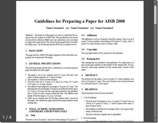 PDF Reader 2.0 - reading PDF file