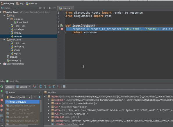 PyCharm - Creating New Code