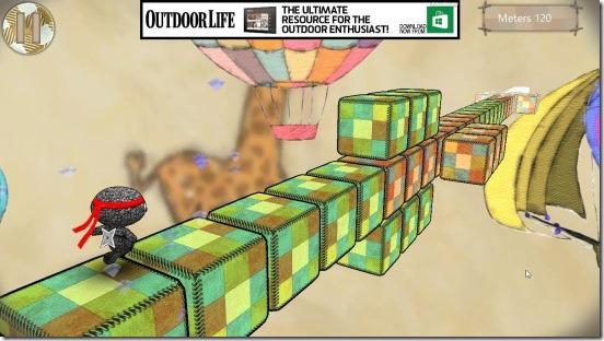 Ragdoll Run - gameplay