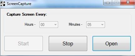 ScreenCapture- interface