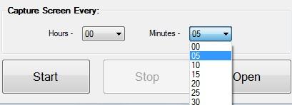 ScreenCapture- set time interval