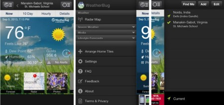 WeatherBug- Weather App for iPhone