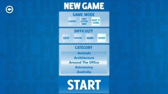 Word Search - New Game