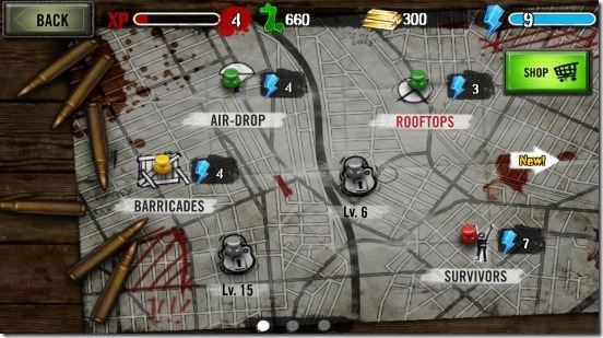 Zombie HQ - mission map