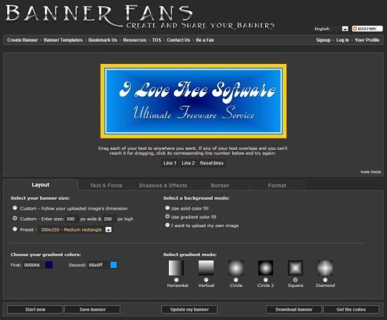 banner fans