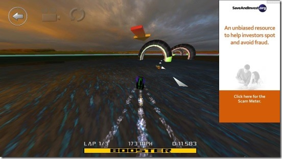 3D Boat Race - gameplay