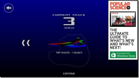 3D Boat Race - track