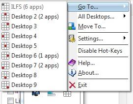 9Desks- move to a desktop