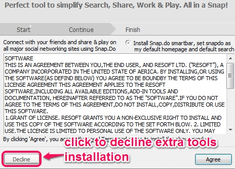Ainishare Free Screen Recorder- installation process