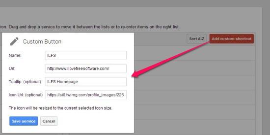 App Launcher Customizer for Google - Add Custom Shortcut