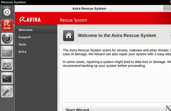 Avira Rescue System working-3