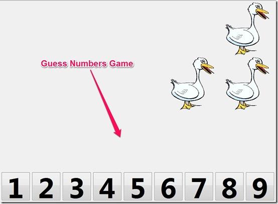Bambini-educational app-numbers game