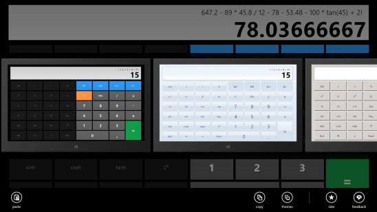 Calculator X8 - themes