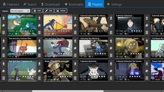 Cartoons HD - playlist videos