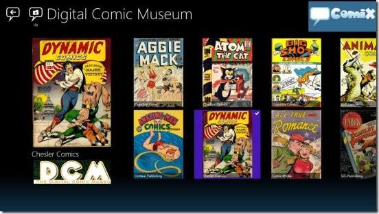 Windows 8 Comic Reader App Free: Comix